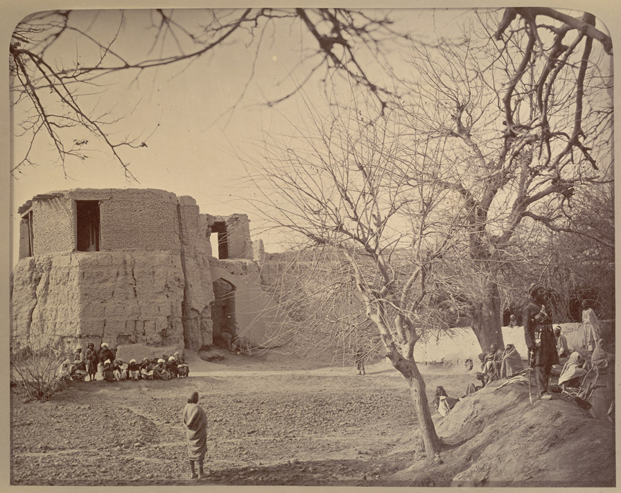 Jellalabad, the bastion where General Elphinstone and others were buried during the seige [sic] 1841-42.